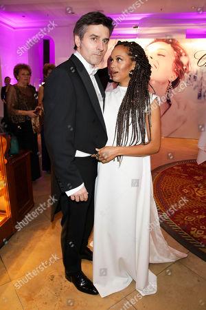 Stock Image of Milka Loff Fernandes mit Ehemann Robert Irschara