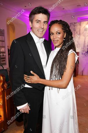 Milka Loff Fernandes mit Ehemann Robert Irschara