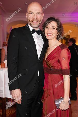 Goetz Schubert mit Partner Simone Witte