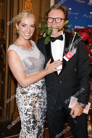 Stock Image of Wolfgang Lippert mit Ehefrau Gesine