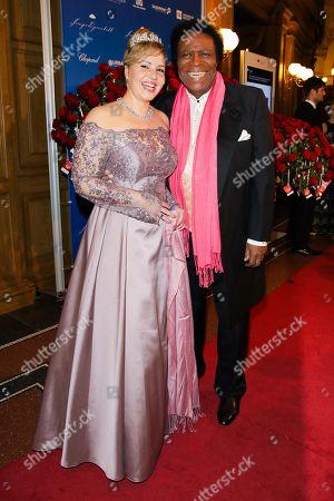 Roberto Blanco mit Ehefrau Luzandra