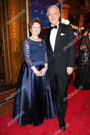 Stanislaw Tillich mit Ehefrau Veronika