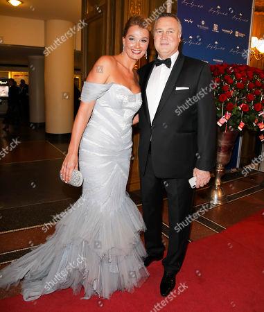 Franziska van Almsick mit Ehemann Juergen B. Harder