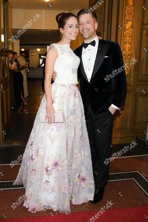 Tom Gaebel mit Freundin