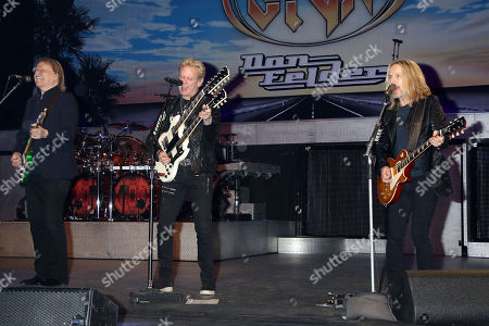 """Don Felder,, James """"JY"""" Young, Tommy Shaw, Styx"""