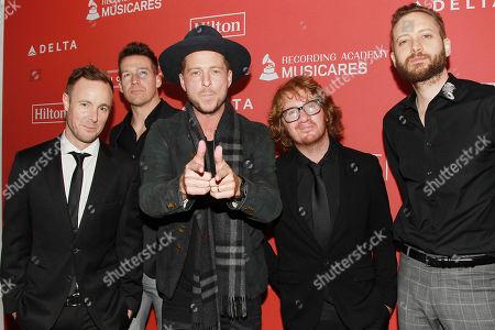 OneRepublic - Zach Filkins, Ryan Tedder, Drew Brown, Brent Kutzle, Eddie Fisher