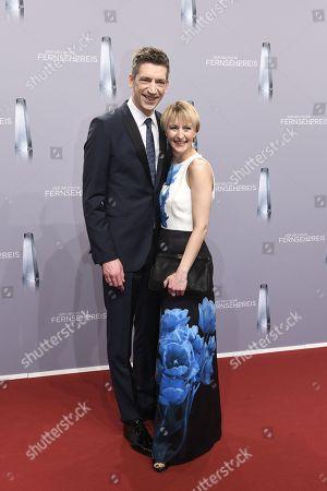 Steffen Hallaschka mit Ehefrau Anne-Katrin