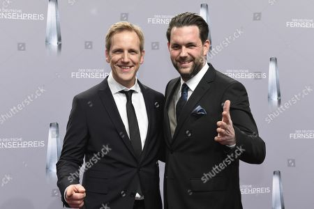 Editorial photo of German Television Awards, Cologne, Germany - 26 Jan 2018