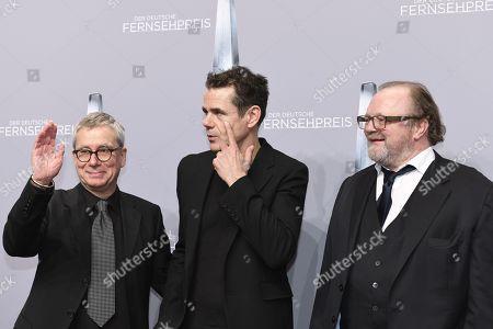 Gebhard Henke, Tom Tykwer and Stefan Arndt
