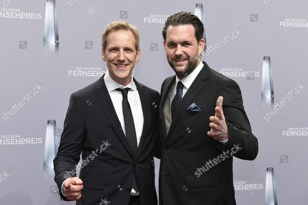 Stock Photo of Jan Hahn and Matthias Killing