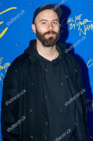 Editorial photo of 'Call Me By Your Name' film premiere, Paris, France - 26 Jan 2018
