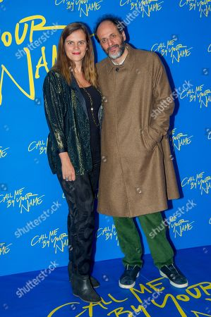 Producer Emilie Georges and Director Luca Guadagnino