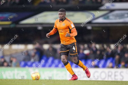 Alfred N'Diaye of Wolverhampton Wanderers in action during Ipswich Town vs Wolverhampton Wanderers, Sky Bet EFL Championship Football at Portman Road on 27th January 2018