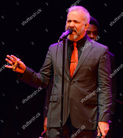 Stock Photo of JJ Grey and Mofro performs during the Ann Arbor Folk Festival at Hill Auditorium in Ann Abor, Michigan