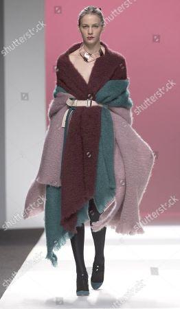 Editorial image of Ulises Merida show, Runway, Autumn Winter, Mercedes Benz Fashion Week, Madrid, Spain - 27 Jan 2018