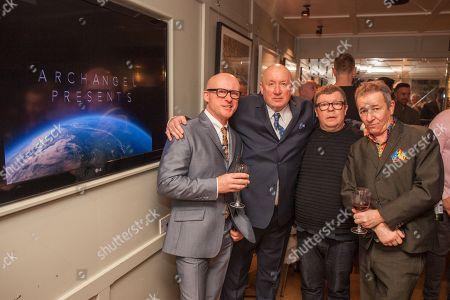 Editorial picture of Archangel films reception, London, UK - 26 Jan 2018
