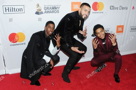 Christian Combs, Justin Dior Combs, French Montana