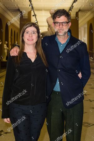 Producer JoAnne Sellar and director Paul Thomas Anderson