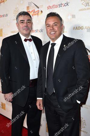 Damian Petti and Carlos Cota