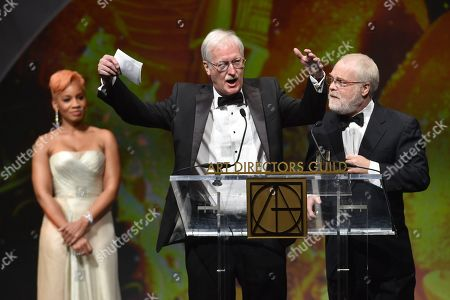 Anika Noni Rose, John Musker and Ron Clements