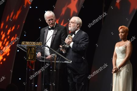 John Musker, Ron Clements and Anika Noni Rose