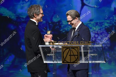 Dennis Gassner and Gary Oldman