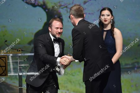 Rian Johnson and Francois Audouy