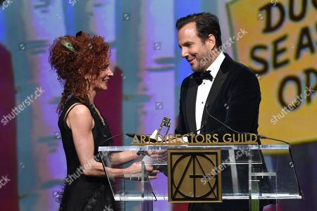 Julie Berghoff and Will Arnett