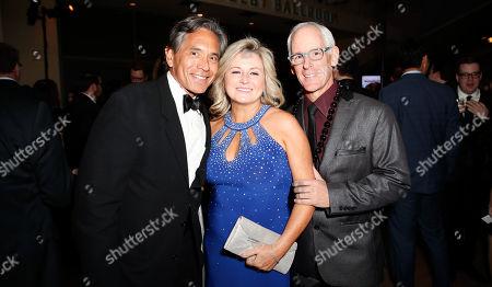 Ruben Florez, Donna Arany and Scott Meehan