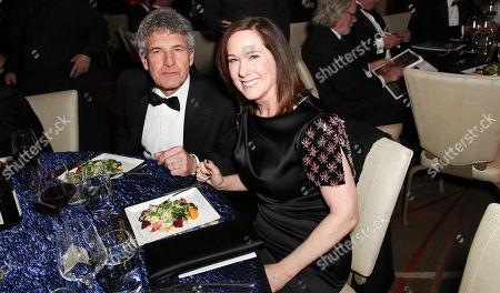 Alan Horn and Kathleen Kennedy