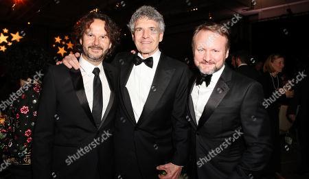 Ram Bergman, Alan Horn and Ryan Johnson