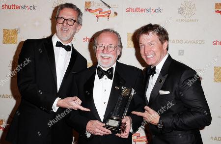 Mark Worthington, Michael Baugh and Nelson Coates