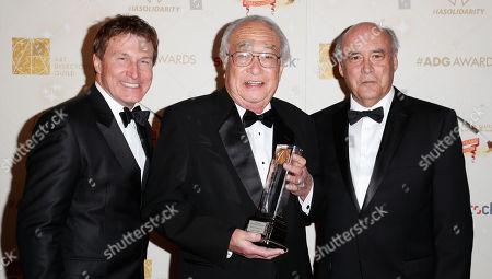 Nelson Coates, James Murakami and Gary Fettis