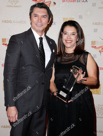 Lou Diamond Phillips and Glenda Rovello