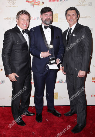 Nelson Coates, Todd Fjelsted and Lou Diamond Phillips