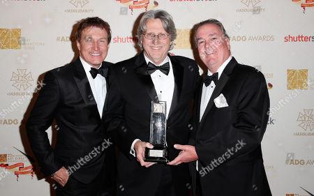 Nelson Coates, John Moffitt and Ed Strang
