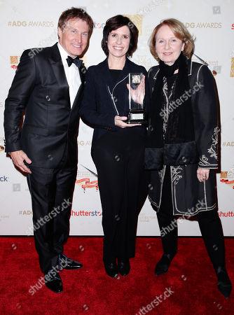 Nelson Coates, Deborah Riley and Kate Burton
