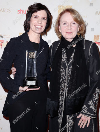 Deborah Riley and Kate Burton