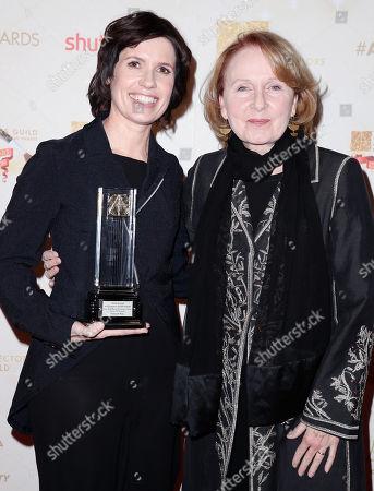 Deborah Riley and Kate Burton