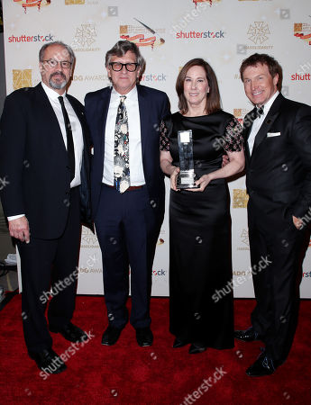 Chuck Parker, Rick Carter, Kathleen Kennedy and Nelson Coates