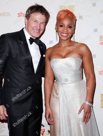 Nelson Coates and Anika Noni Rose