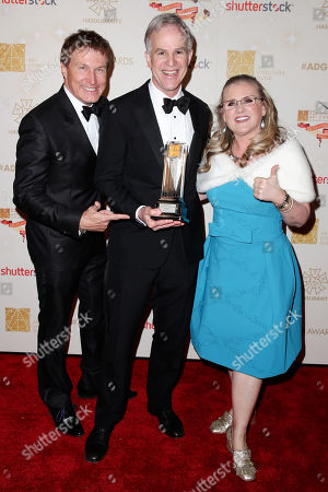 Nelson Coates, Harley Jessup and Nancy Cartwright