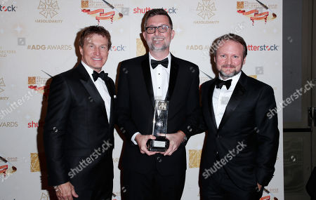 Nelson Coates, Francois Audouy and Rian Johnson