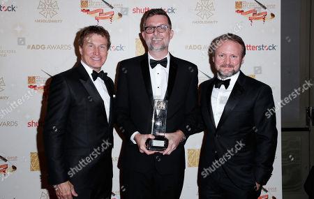 Nelson Coates, Francois Audouy and Rian Johnson