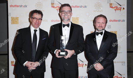 Peter Lanto, Francois Audouy and Rian Johnson