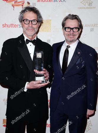 Dennis Gassner and Gary Oldman