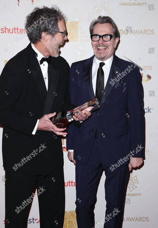 Stock Image of Dennis Gassner and Gary Oldman