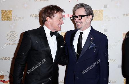 Nelson Coates and Gary Oldman