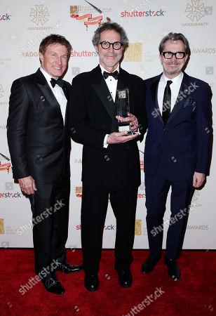 Nelson Coates, Dennis Gassner and Gary Oldman