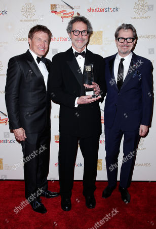 Stock Picture of Nelson Coates, Dennis Gassner and Gary Oldman